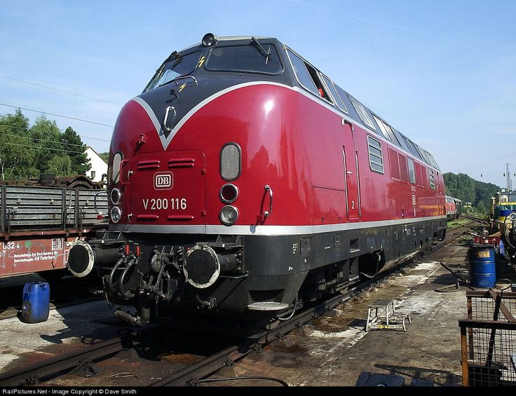 RailPictures.Net Photo: 221 116 Deutsche Bundesbahn DB V200 at ...