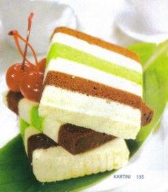 CAKE KUKUS LIMA LAPIS (RESEP MASAKAN INDONESIA) | International Food Recipes | Resep Masakan & Makanan Indonesia