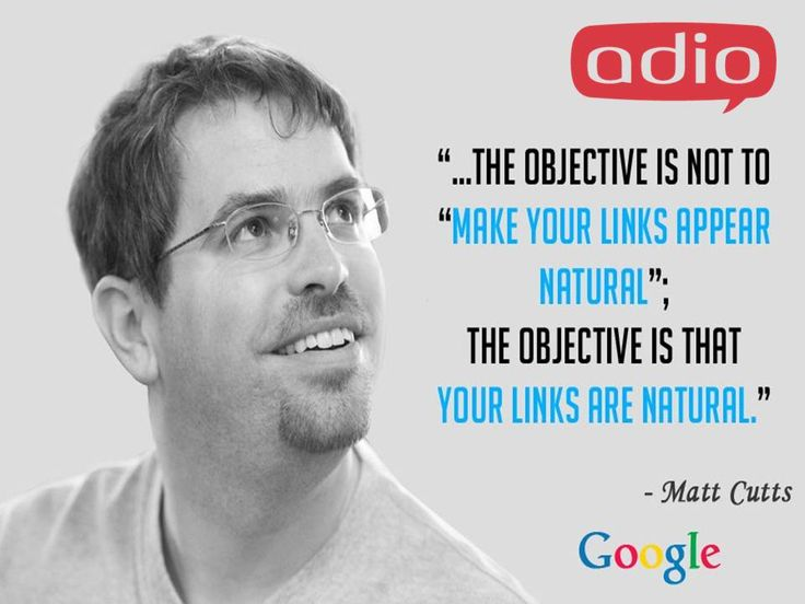 """""""The objective is not to make your #links appear natural""""; The objective is that your links are natural."""" #DigitalMarketing"""