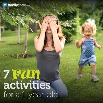 7 fun activities for a 1-year-old