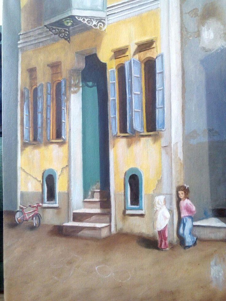 50*70 cm oil on canvas