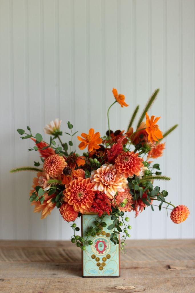Backyard Bouquets {8.28.14}