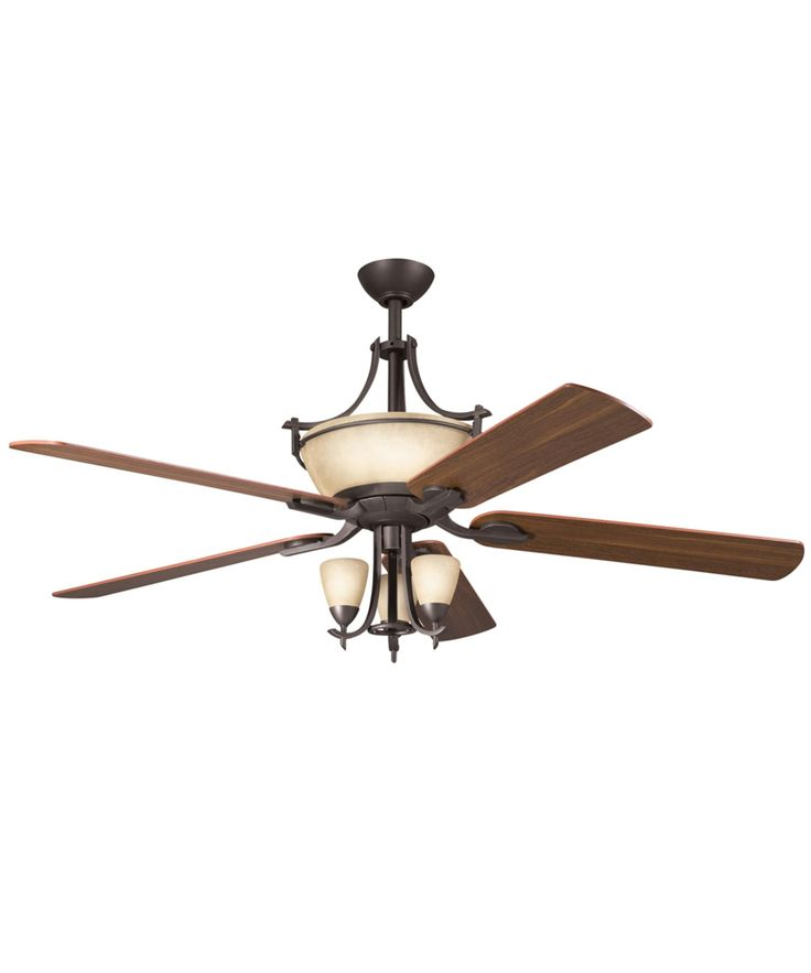 Kichler 300011 Olympia 60 Inch Ceiling Fan With Light Kit