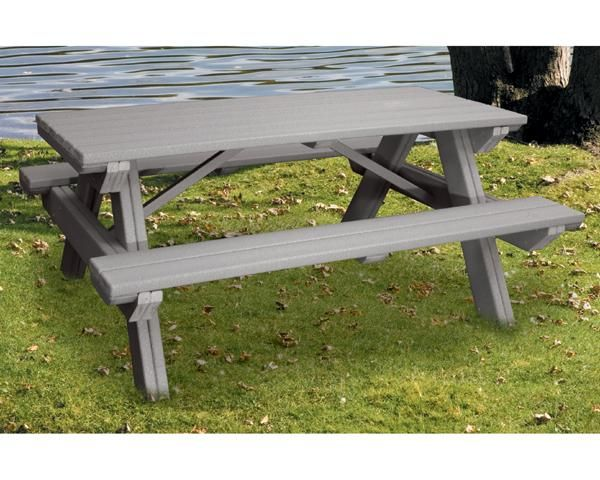 picnic tables recycled plastic picnic tables4ft recycled plastic picnic table
