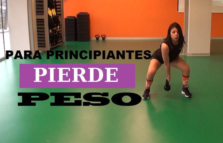 PIERDE PESO CON ESTA RUTINA (PRINCIPIANTES)