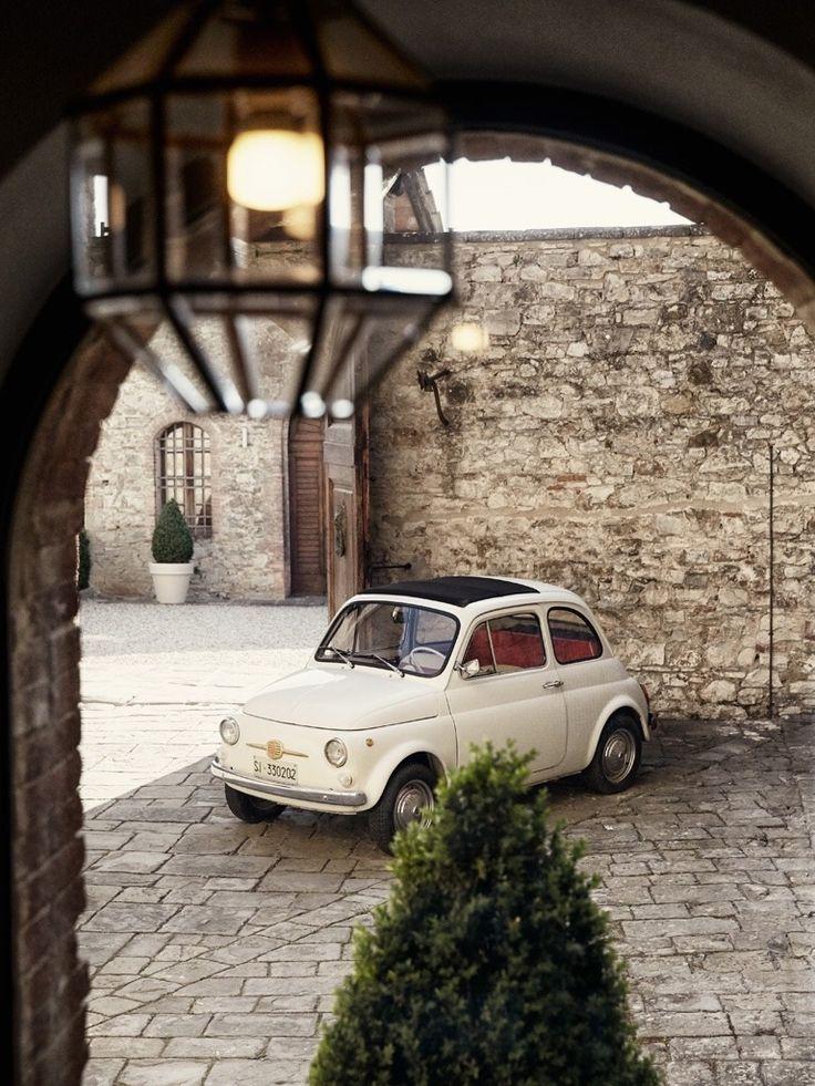"""simobutterfly: """"La Fiat 500 """""""