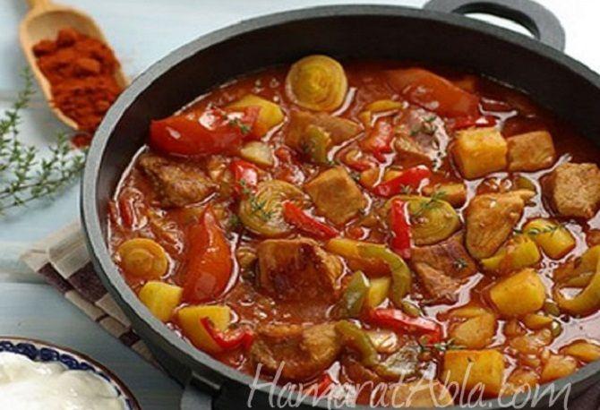 Καλοκαιρινό+τουρλού+με+κρέας