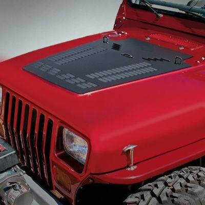 Jeep Wrangler Lifted >> Poison Spyder Customs Hood Louver for 87-14 Jeep® Wrangler YJ, TJ & JK | JEEP MODS | Jeep, Jeep ...