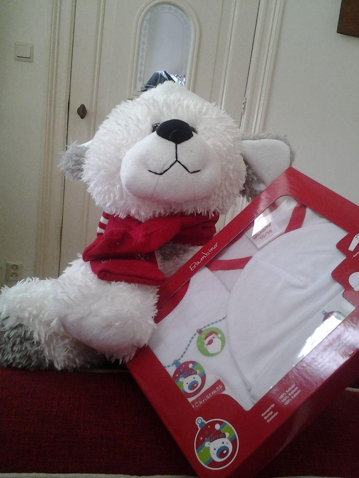 Cadeaupakket baby kerst