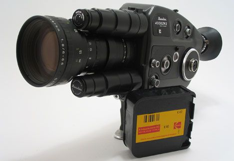 This is a Beaulieu... a professional Super 8 camera made in France...this was (and still is) the best Super 8 camera ever made!