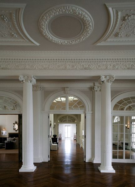 ♛   Astor Courts, Estate of the Day - Just Plain Fab! #Home #Design #Decor  ༺༺  ❤ ℭƘ ༻༻