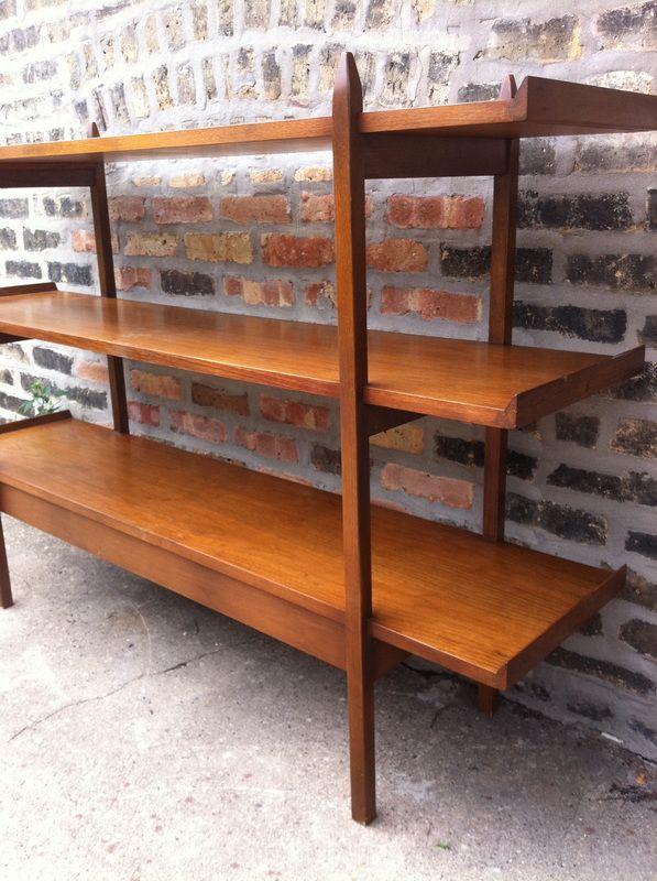 Mid Century Modern Bookcase_Mid Century Modern Bookcase