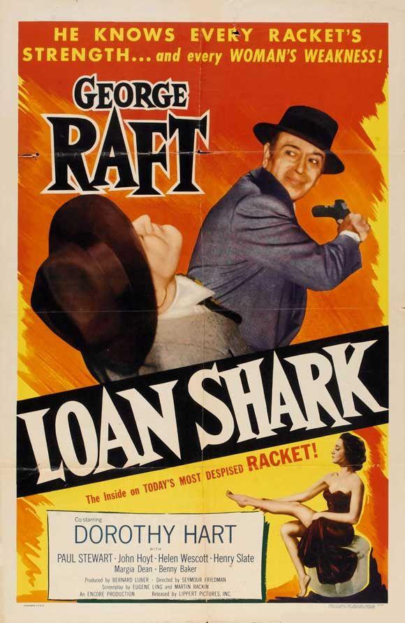 Loan Shark 11x17 Movie Poster (1952)