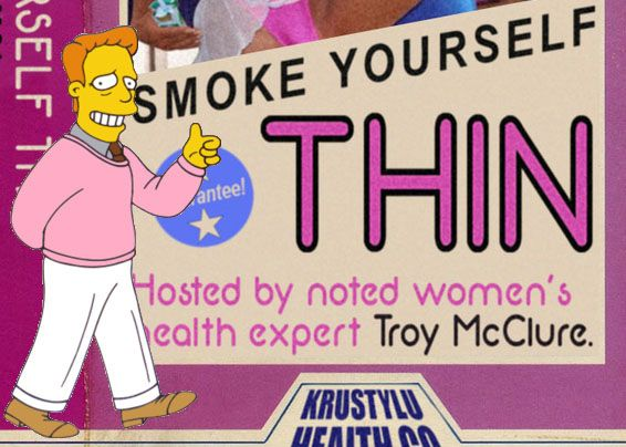 Image result for troy mcclure, smoke yourself thin