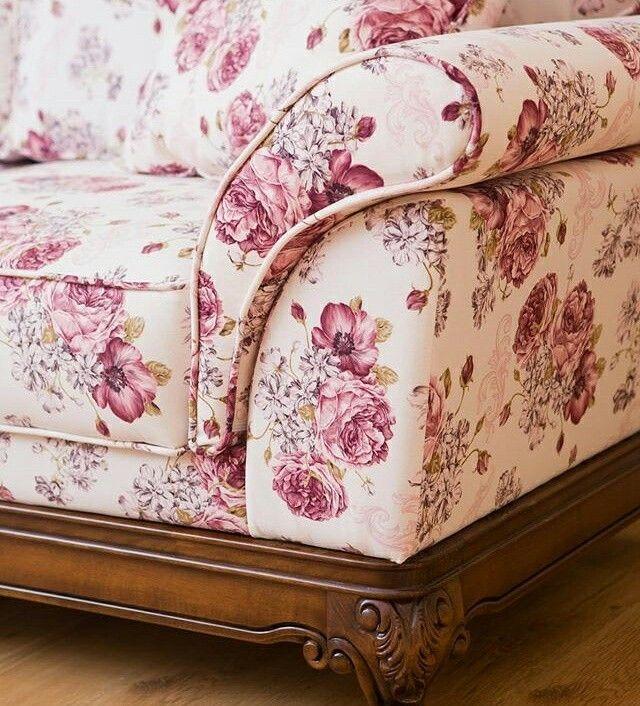 Floral Sofa custom made