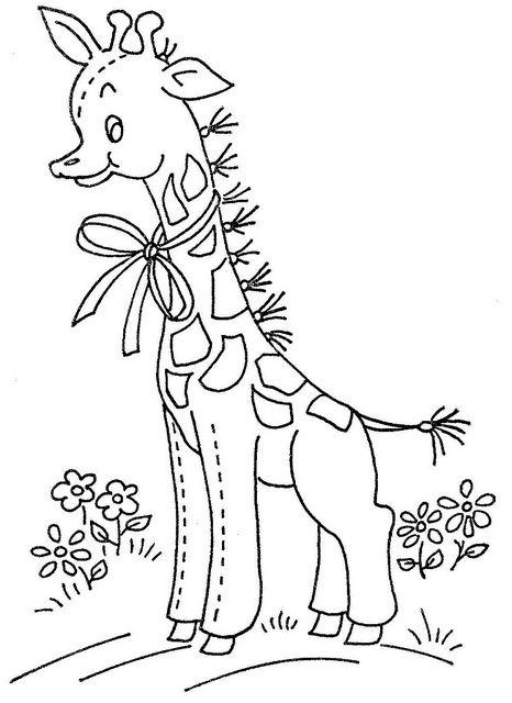 12 1972 WB giraffe by love to sew, via Flickr