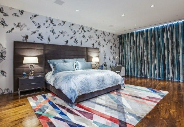 Bett Kopfteil Schlafzimmer Ideen Multifunktionelle Wand Design Dekor Dekoration Heimtextilien