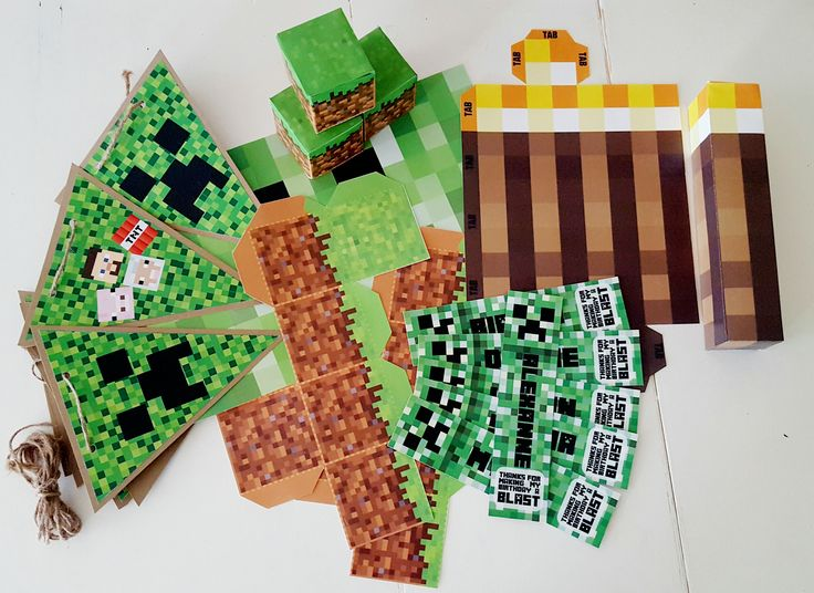 Who doesn't love a Minecraft party! From ideas, diy's , decor, food, drinks, freebies..xo
