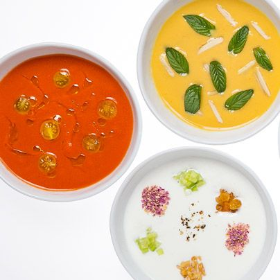 Traditional gazpacho is lovely, but there's a world of options out there. Check out our guide to making the perfect Spanish summer soup.