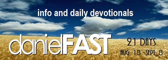 21 Day Daniel Fast Devotionals