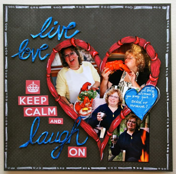 Lynne's Art World: Challenge YOUrself #4 - Keep Calm and....