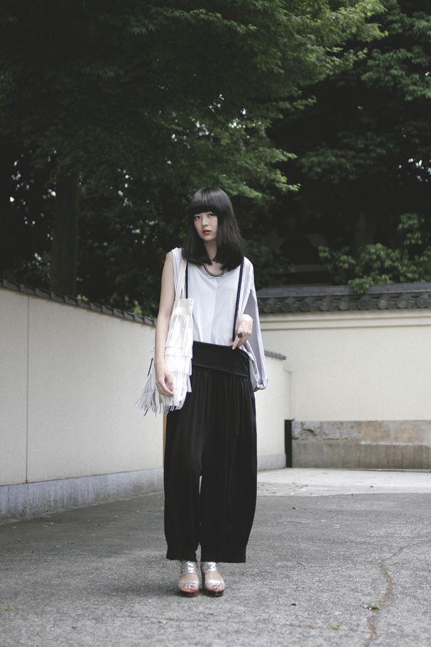 [Street Style] 円 | 大学生 | Koenji (Tokyo)