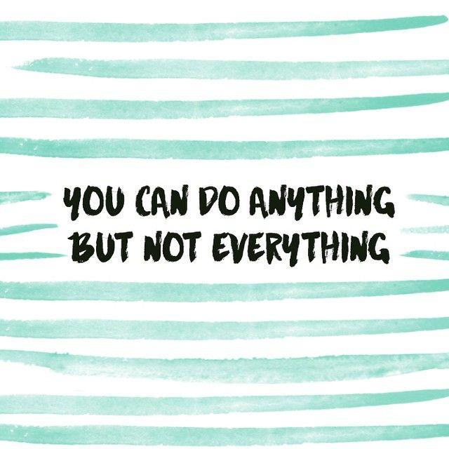 Kết quả hình ảnh cho Do something, not everything.