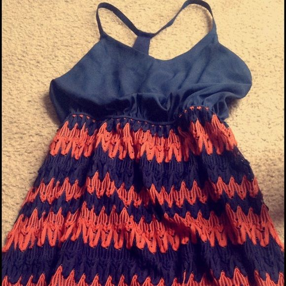 Judith March Dress Never worn: Only tried it on in the store. Perfect for an Auburn game!!! Please use the offer button willing to negotiate😊 Judith March Dresses