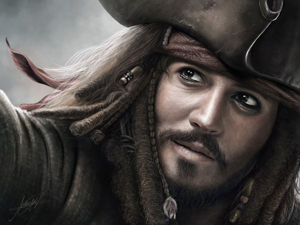 Jack Sparrow ( Digital Painting )