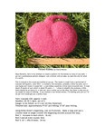 Ravelry: Felted Kidney pattern by Cheryl Molnar