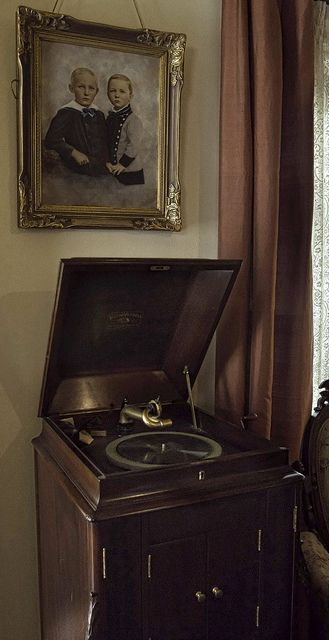 """Old Victrola Refinished Found In Old Farm House  - Pinned 8-25-2015 from """"My Victrola Passion"""" board."""
