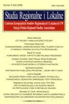 Wydawnictwo Naukowe Scholar :: :: 2006 STUDIA REGIONALNE I LOKALNE nr 3 (25) UWAGA!!! Do kupienia także w PDFie
