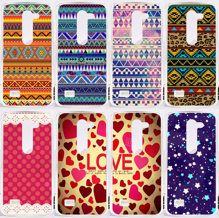 Retro Classic Vintage Aztec Tribal Totem Colorfully Pattern Hard Cover Case For LG LEON 4G LTE C40 H340N H320 C50 Phone Shell