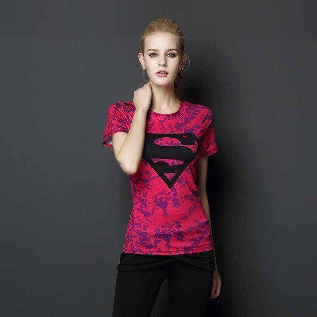 T-shirt Superman Camo