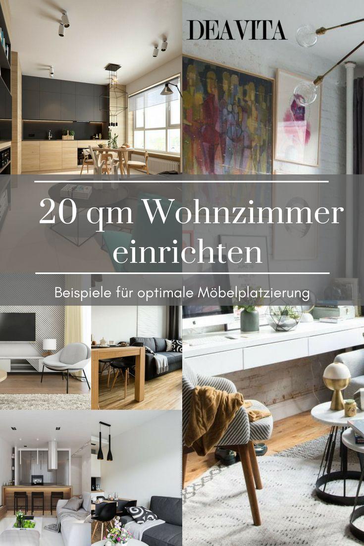 Wir zeigen Ihnen ein paar Beispiele für optimale Möbel-Platzierung ...