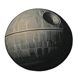 ThinkGeek :: Exclusive Star Wars Death Star Rug - OMG!!!!!  My nephew needs this!