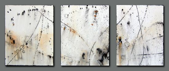 dream half-remembered by Trisha Adams Acrylic ~ 20 x 16 (3 pieces)
