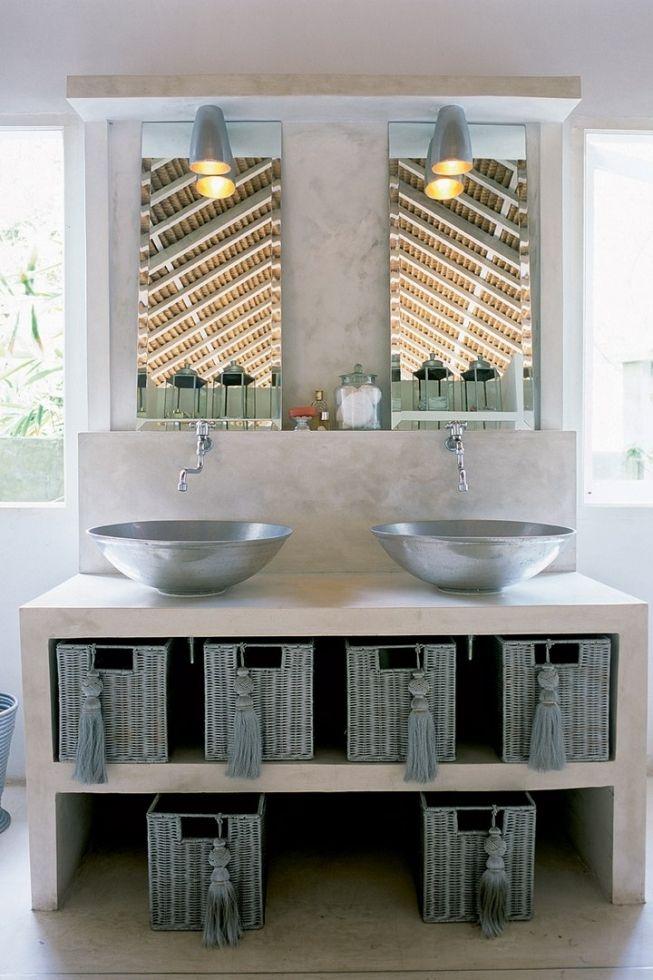 Идеи куда спрятать технику в ванной комнате - Дизайн интерьеров | Идеи вашего дома | Lodgers