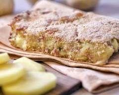 Gâteau de pommes de terre au parmesan : http://www.cuisineaz.com/recettes/gateau-de-pommes-de-terre-au-parmesan-23466.aspx