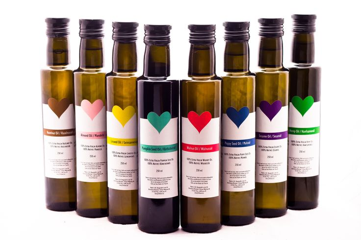Our Extra Virgin oil made from various nuts