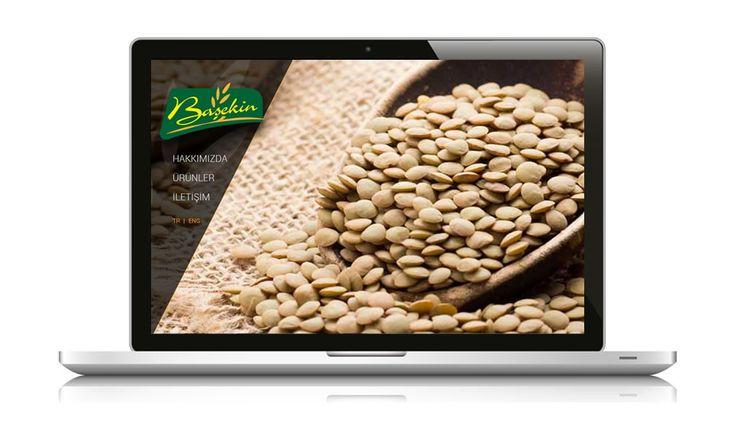 Gıda sektöründe yer alan Başekin Bakliyat, web sitesi yayında www.basekin.com.tr