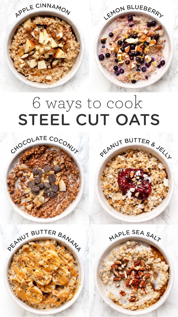 Instant Pot Steel Cut Hafer
