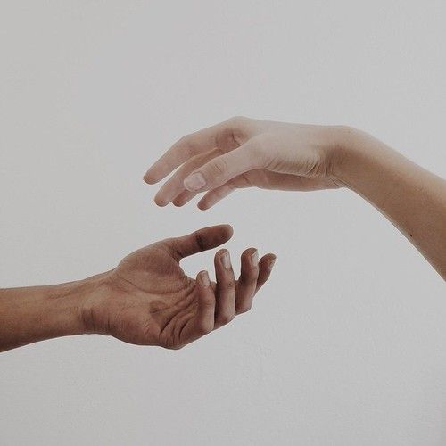 hands and pale image