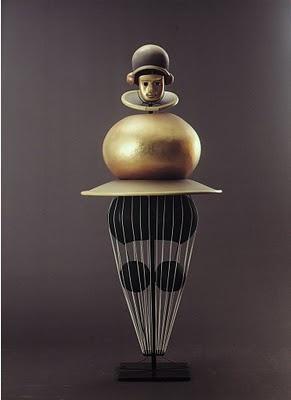 Oskar Schlemmer, Triadisches Ballett (Triadic Ballet), 1922. Costume. Art Deco. @Deidra Brocké Wallace