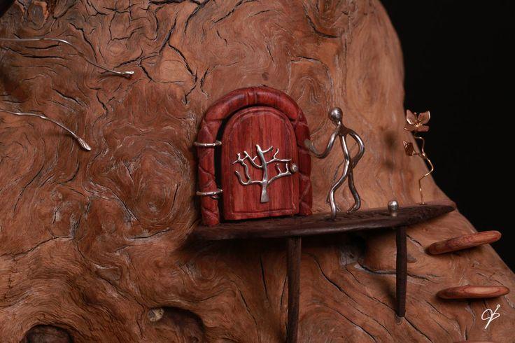 partie de la sculpture : Monde des Fourmis