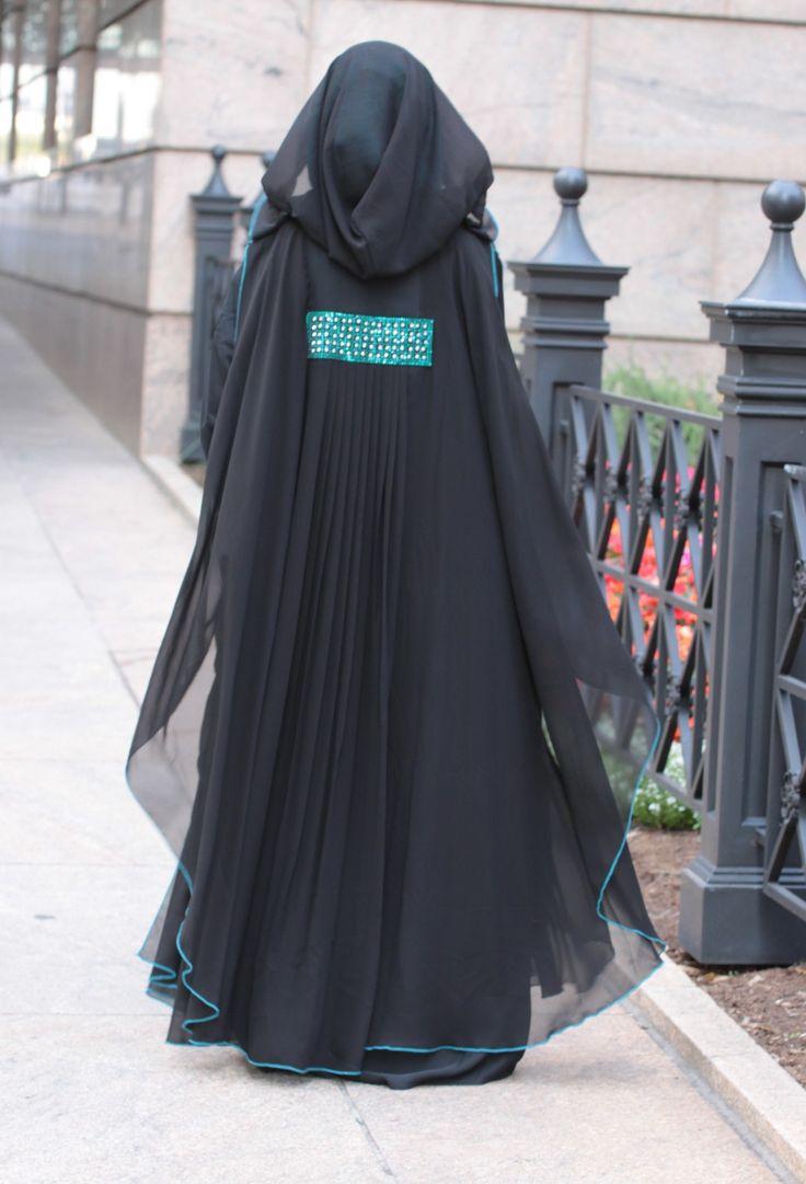 Elegant Batwing Abaya