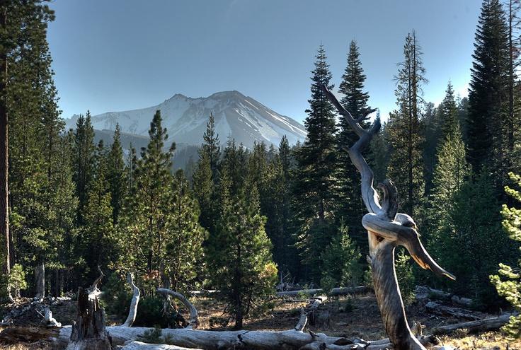 Mt. Lassen, California