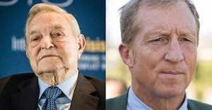 Bernie's Billionaires - Sanders is supported by hedge fund operator and billionaire George Soros whose net worth rose from about $9 Billion before Obama took office to over $24 Billion today, and Sanders says the Koch brothers are greedy. Will anyone look at Soros' greed? (8/2015)