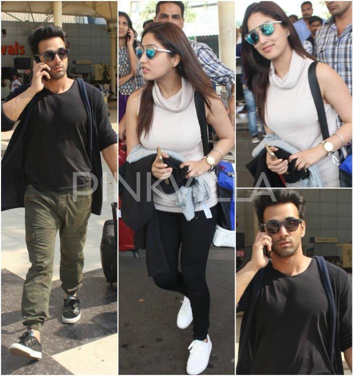 Sanam Re? Yami Gautam and Pulkit Samrat Get Clicked At The Airport! | PINKVILLA