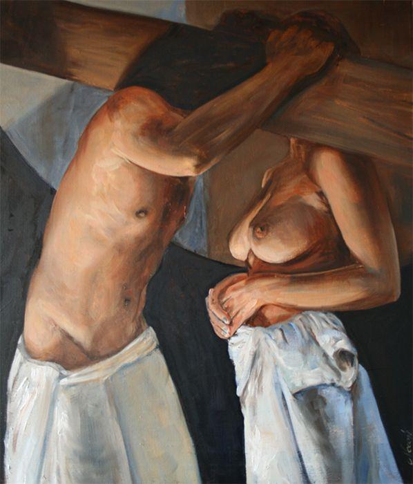 Cyprian Nocon The Faithfulness 90x70  2016
